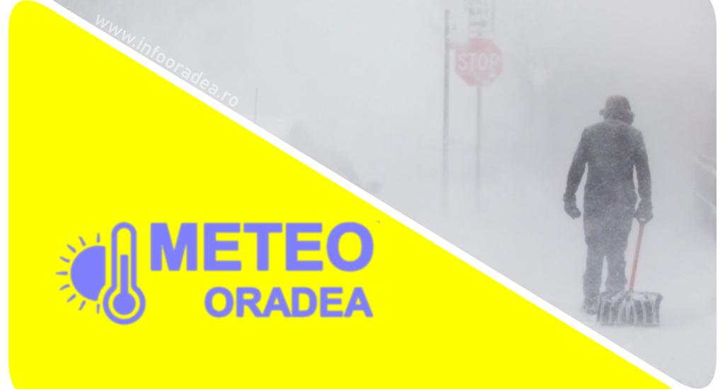 COD GALBEN de ninsori si viscol pentru zona inalta a judetului Bihor, pana miercuri