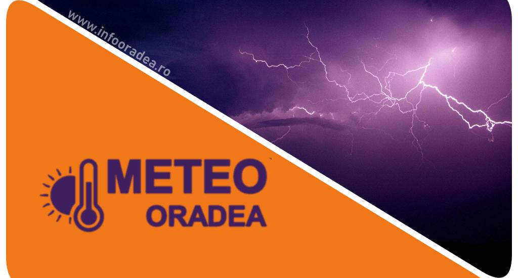 Un nou Cod Portocaliu de ploi abundente si vant puternic in judetul Bihor