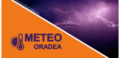 AVERTIZARE Nowcasting COD PORTOCALIU de furtuna in mai multe zone ale judetului Bihor