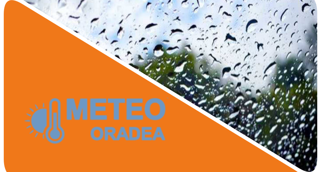 COD PORTOCALIU de ploi insemnate pentru judetul Bihor. Cantitati de apa de pana la 50-80 l/mp