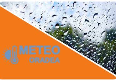 Un nou Cod Portocaliu de ploi abundente pentru Judetul Bihor. Peste 40 l/mp si izolat pana la 80 l/mp