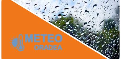 Alerta Meteo! COD PORTOCALIU de vreme severa pentru Oradea si judetul Bihor