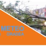 COD PORTOCALIU de vreme severa in Oradea si mai multe localitati din judetul Bihor, pana la ora 23:00