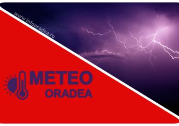 Oradea intra sub COD ROSU de furtuna extrem de puternica. Vant de 120 km/h si grindina de 5-8 cm