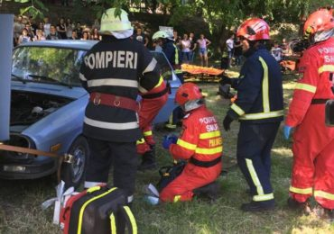 exercitii descarcerare si prim ajutor Oradea