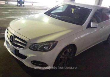 Mercedes furat din Italia si condus de un bihorean, descoperit in Vama Bors