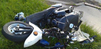 Sfarsit tragic pentru un tanar bihorean de 16 ani, dupa ce s-a izbit cu mopedul de un cap de pod