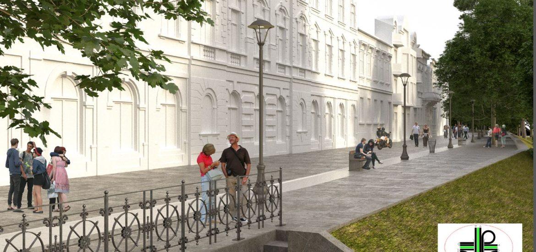 Strada Libertatii din Oradea va deveni zona pietonala (FOTO RANDARI)