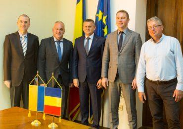 Ambasadorul Ucrainei, in vizita la Oradea, interesat de schimburi comerciale cu Oradea