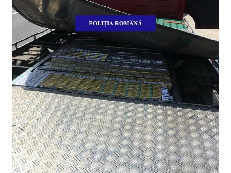 8000 pachete tigari nemarcate confiscate alesd