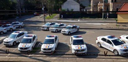 13 masini noi intrate in dotarea politistilor bihoreni