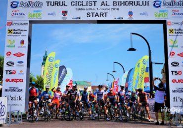 Prima etapa la Turul Ciclist al Bihorului a fost castigata de italianul Malucelli Matteo (FOTO)