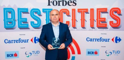 "Oradea a fost premiata la Gala Forbes ""Best Cities 2018"""