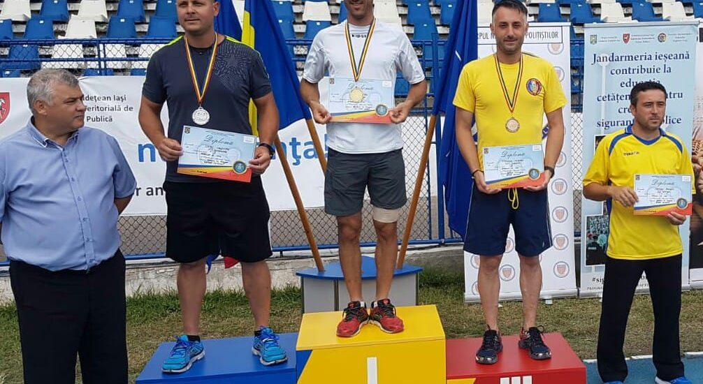 Aur si argint pentru pompierii militari bihoreni la Campionatul de Atletism şi Cros al M.A.I.