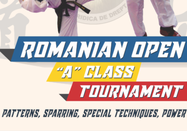 Sambata la sala Antonio Alexe, din Oradea, va avea loc Openul Romaniei la Taekwon-do