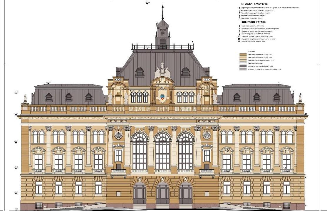Proiect reabilitare Primaria Oradea