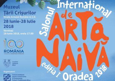 Salon Internaţional de Artă Naivă la Muzeul Tarii Crisurilor