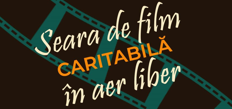 Seara de film in aer liber, in scop caritabil, in aceasta seara, in Campusul Universitatii Oradea