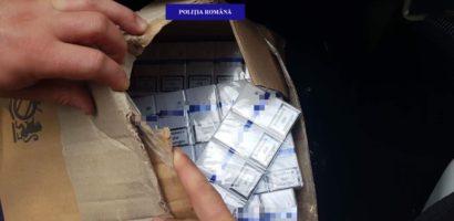 Razie a politistilor oradeni prin piete. Au vizat comerciantii de tigari nemarcate legal