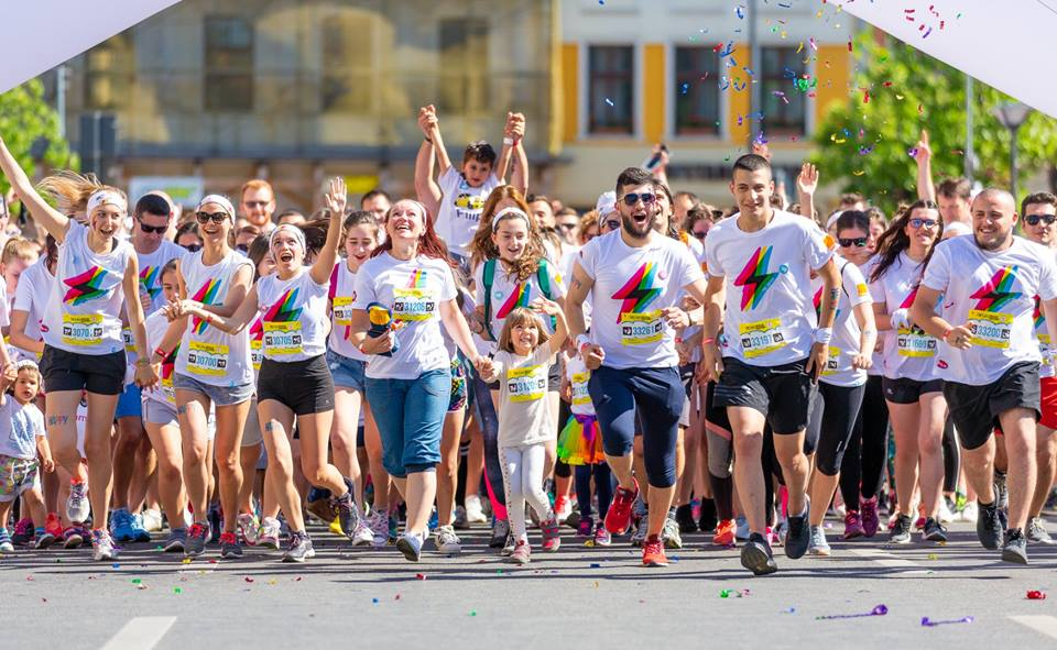The Color Run Oradea 2018