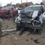 Cauza accidentului din Santandrei: neacordare de prioritate. Doi barbati au ajuns la spital