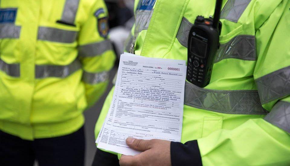 Aproape 200 de persoane sanctionate de politisti, pentru nerespectarea legislației rutieră, în doar 24 de ore.