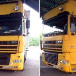 Un cap tractor DAF, furat din Croatia, oprit in Vama Bors
