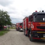 Incendiu in aceasta dupa amiaza in Oradea. O femeie a ajuns la spital, intoxicata cu fum