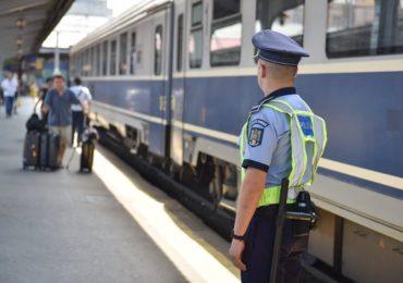 Actiune in forta a politistilor, in garile din judetul Bihor si din tara, pentru combatarea faptelor ilegale din statiile CFR