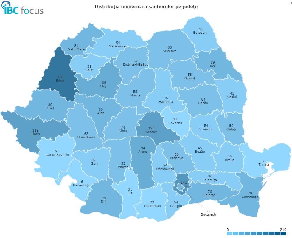 santiere Romania