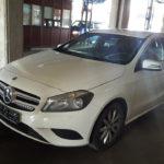 Un A KLASSE de 15.000 de euro, furat din Danemarca, oprit in Vama Bors