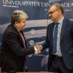 Universitatea Oradea a semnat un contract de colaborare cu Universitatea Alicante din Spania