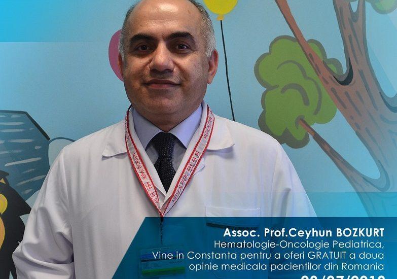 Consult gratuit pentru copii, la Constanţa, oferit de un reputat oncolog turc