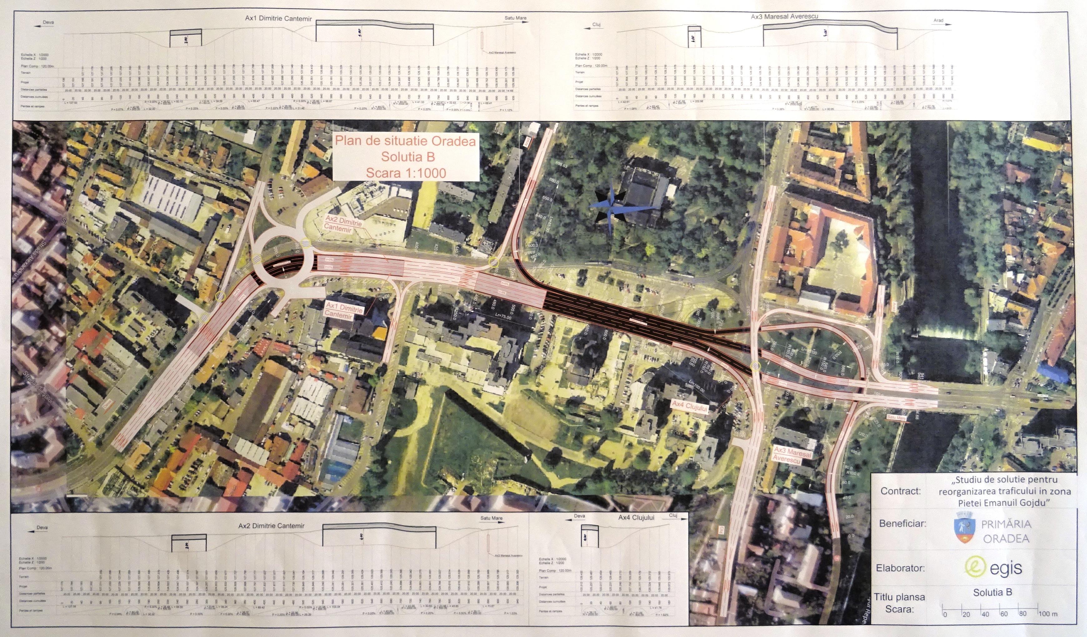 Doua pasaje subterane Centru civic piata Gojdu Oradea