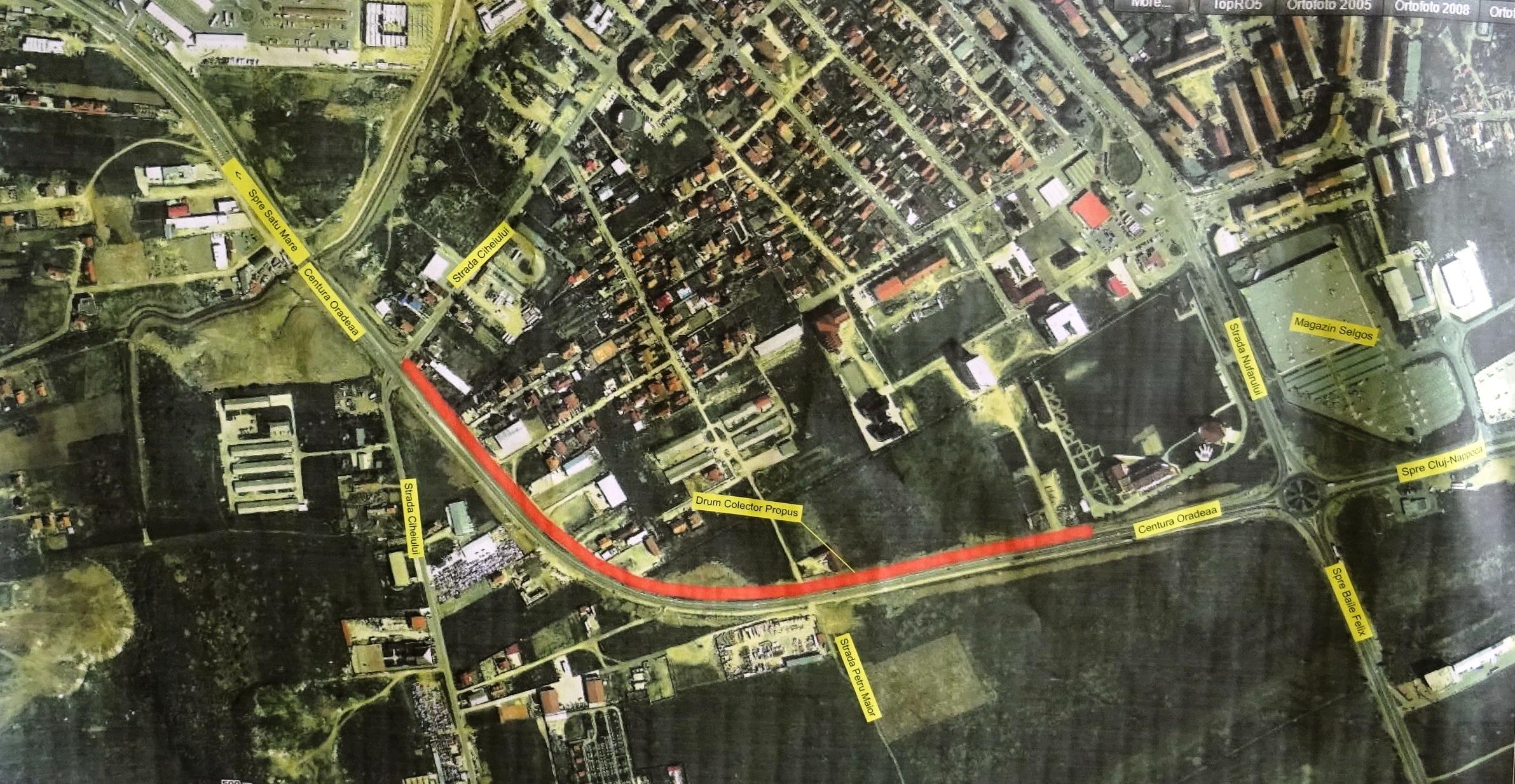 Drum colector centură Oradea