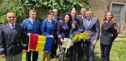 Șase bihoreni născuți odată cu România moderna, onorați de reprezentanții din M.A.I. Bihor (FOTO)