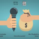 Workshop de improvizaţie pe tema corupţiei organizat de Studio Act Oradea