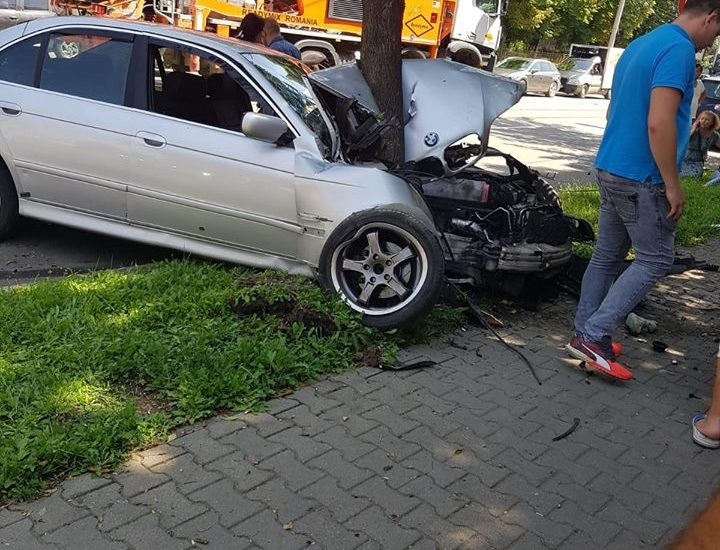 accident BMW gara oradea 30.07
