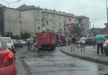accident centru civic oradea