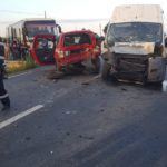 Accident grav cu 11 victime, inainte de localitatea Nojorid, pe DN79