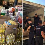 Prefectura Bihor: Ajutoarele stranse de bihoreni au plecat catre judetul Covasna, la cei loviti de calamitati