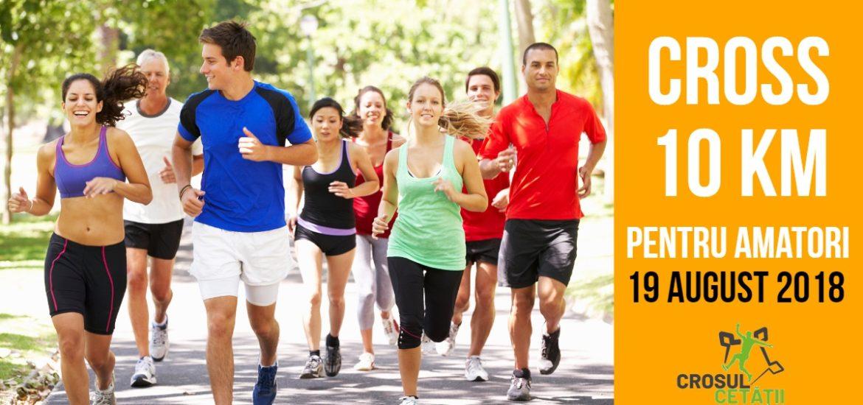 """""""Crosul Cetății"""" – concurs de alergare pentru toata lumea, in 19 august"""