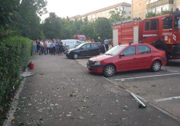 explozie gaze strada bumbacului Oradea