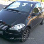 Mercedes furat din Polonia, oprit in Vama Bors