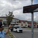 Mesaje de avertizare meteo in statiile mijloacelor de transport din Oradea