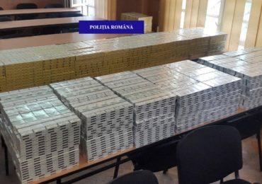 Un barbat din Satu Mare, depistat in Oradea, transportand aproape 8.000 de pachete de tigari nemarcate legal