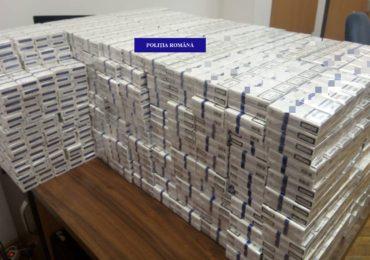 Hunedorean prins in Marghita cu aproape 4.000 de pachete de tigari nemarcate legal