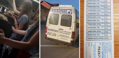 Transportatori de persoane controlati de politistii rutieri, pe ruta Oradea – Beius. Pasageri nemultumiti