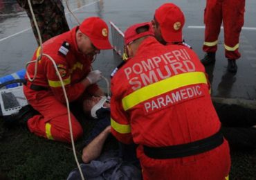 Accident grav in Parcul Industrial Oradea. Un barbat a ajuns la spital cu multiple leziuni
