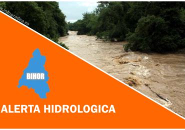 COD PORTOCALIU de inundatii in judetul Bihor, pe raurile Iad, Dragan, Crisul Negru si afluentii acestuia din zona montana